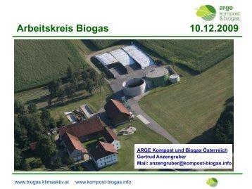 Biogas 09 Referat Anzengruber