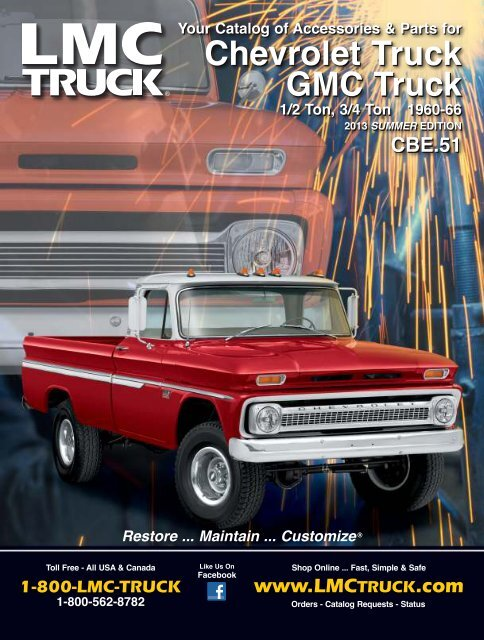 Chevrolet Truck - LMC Truck