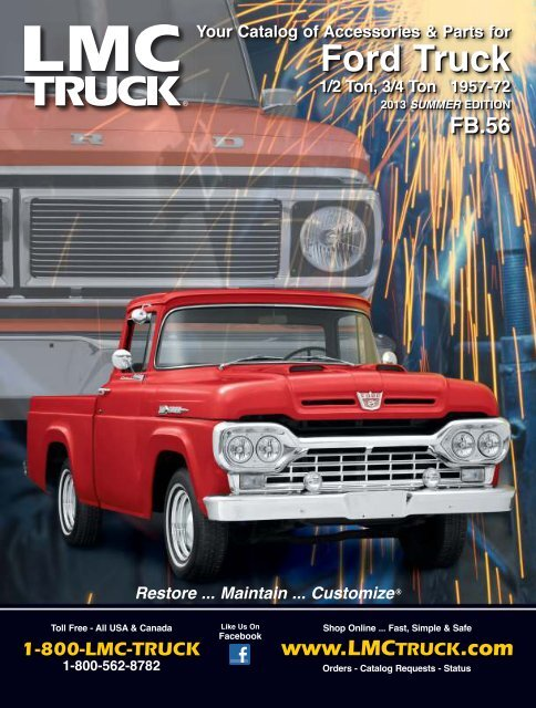Free Catalogs For Chevy Gmc Ford And Dodge Trucks Lmc Truck >> Ford Truck Lmc Truck