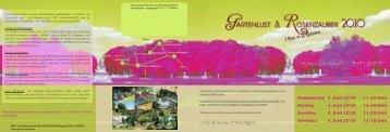 15 Jahre Gartenlust - 1995 - 2010 !!!