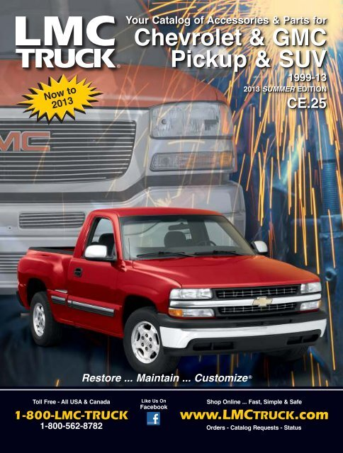 Free Catalogs For Chevy Gmc Ford And Dodge Trucks Lmc Truck >> Front Bumper Lmc Truck