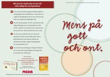 Ladda ner (.pdf) - Mensbesvär