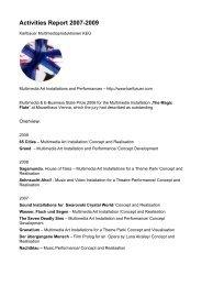 Activities Report 2007-2009