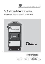 Orlan Super Gasogen kedel manual - NH Bioservice.dk-NH ...