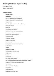 Table of Contents for (9780470684153) - Amazon Web Services