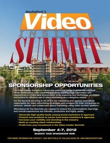 Sponsor Opportunities - MediaPost