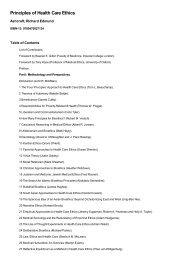 Principles of Health Care Ethics by Ashcroft, Richard Edmund