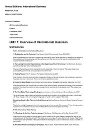 (9780073528519) Annual Editions: International Business by ...
