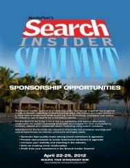 SPONSORSHIP OPPORTUNITIES - MediaPost