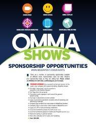 Sponsor Opportunities (pdf) - MediaPost