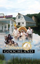 Goochland County Government Guide - Offical Contest Rules