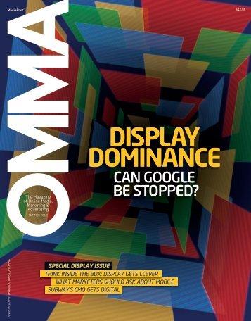 DISPLAY DOMINANCE - MediaPost