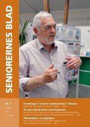 Seniorernes Blad nr. 5 2012 - Pensionisternes Samvirke