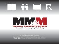 Media Kit - Medical Marketing and Media