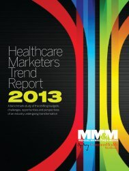 Healthcare Marketers Trend Report - Medical Marketing and Media