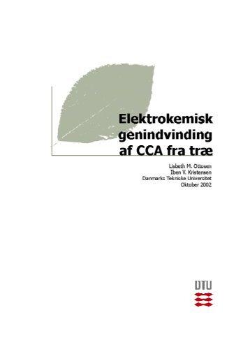 Elektrodialytisk fjernelse af CCA fra træ - Nordic Innovation