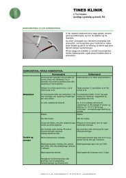Vejledning spiral1 - Tines klinik