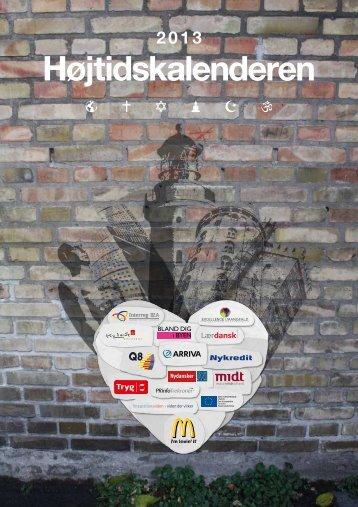 Højtidskalenderen 2013 - Foreningen Nydansker