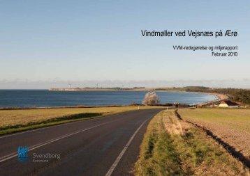 Vindmøller ved Vejsnæs på Ærø - Ærø kommune