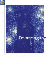 Embracing the Immaterial Universe - Institute of Noetic Sciences