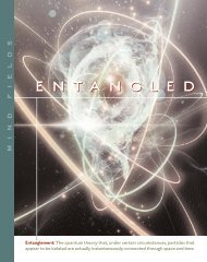 IONS - Shift #5: Entangled Minds - Institute of Noetic Sciences