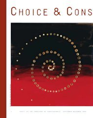 Choice & Consequence - Institute of Noetic Sciences
