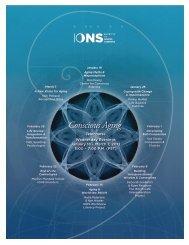 Conscious Aging - Institute of Noetic Sciences