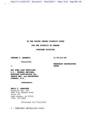 Harpster Law, LLC 4800 sw Meadow Road Suite - OregonLive.com