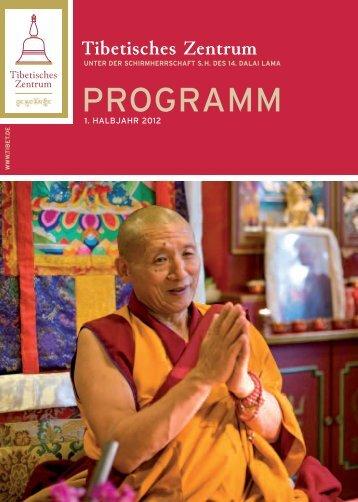 IHR aufenthalt IM Meditationshaus ... - Tibetisches Zentrum ev