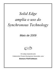 Solid Edge Broadens Use of Synchronous Technology - Siemens