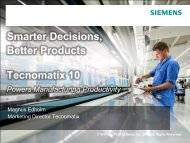 Smarter Decisions, Better Products - Siemens