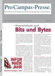 Bits und Bytes - Pro Campus-Presse.