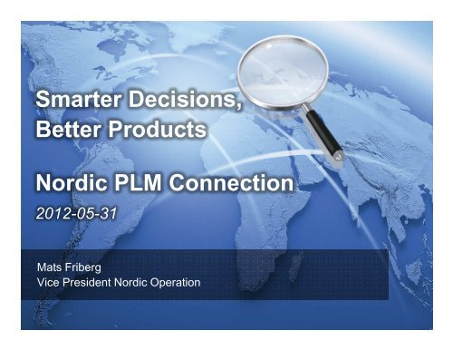 PLM Connection Nordic - Siemens