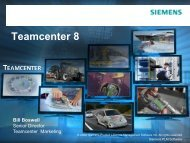 Teamcenter 8 - Siemens