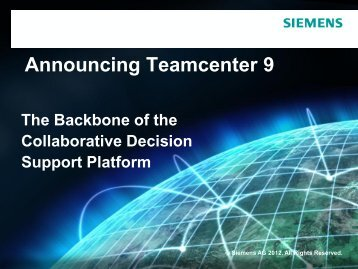 Manufacturing Process Management - Siemens