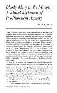 Bloody Mary in the Mirror: A Ritual Reflection of Pre-Pubescent ... - Page 2