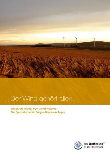 Der Wind gehört allen.
