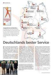 AGRARTECHNIK Service Award 2013