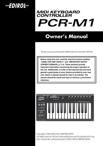 owners manual jupiter 50 e01 w pdf roland rh yumpu com owners manual midland t51a radio owners manual midland t51a radio