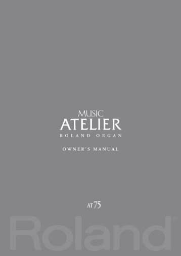Owners Manual (AT-75_OM.pdf) - Roland
