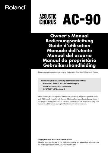 owners manual roland us rh yumpu com roland f20 owners manual roland tr 707 owners manual