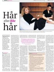 Klik for at læse artiklen - Beauty Avenue