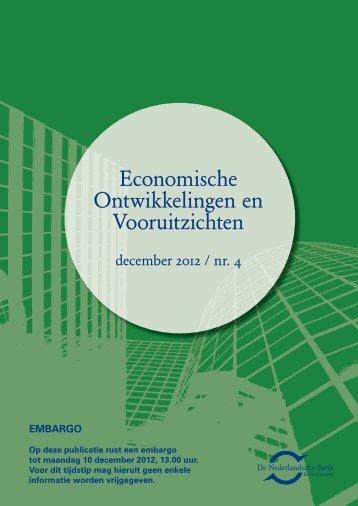Economische Ontwikkelingen en Vooruitzichten - RTL.nl