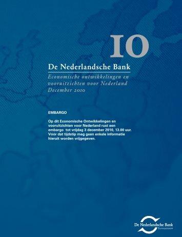 Economische ontwikkelingen en vooruitzichten voor ... - RTL.nl