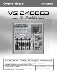 Owners Manual (VS-2400CD_OM.pdf) - Roland