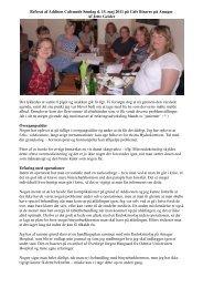 Referat af møde den 15.maj. 2011 - Morbus Addison Portal