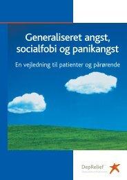 Generaliseret angst, socialfobi og panikangst - Angstforeningen