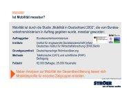 Mobilität und Einkommen - Ströer Out-of-Home-Media