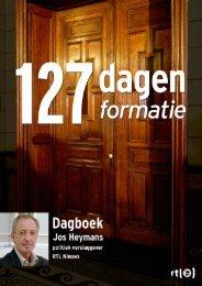 Formatiedagboek Jos Heymans - RTL.nl
