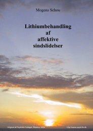 Lithiumbehandling af affektive sindslidelser - Region Midtjylland